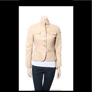 Akris Punto Leather Lamb Jacket
